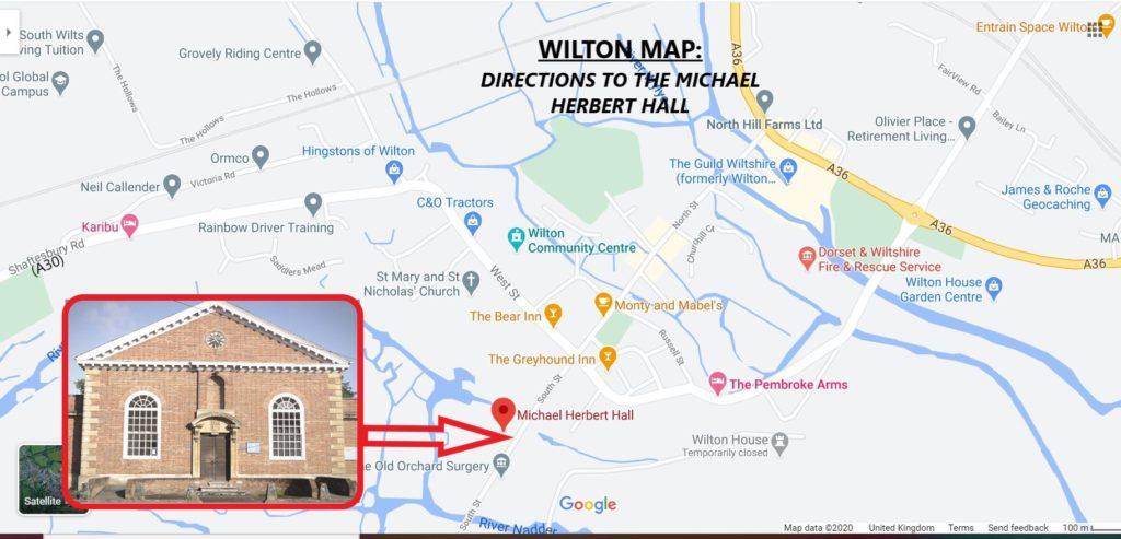 "Alt=""Google map image of Herbert Hall"""